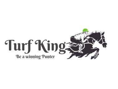Turfking.in (Logo Designing)