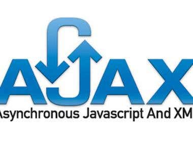 Experience In AJAX Technology,JavaScript, HTML, CSS