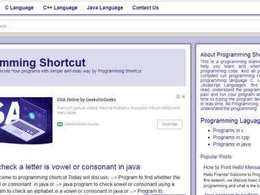 http://www.programmingshortcut.com/