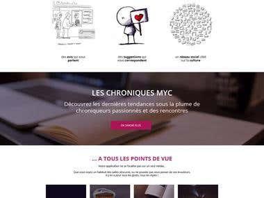 Portal Website for Meet Your Culture