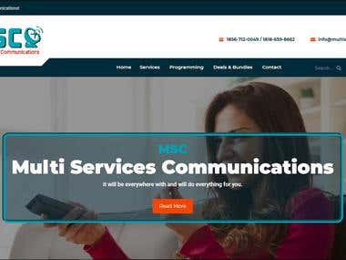 Multi Services Communications