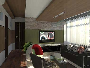 Condominium interior