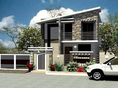 A small & nice house