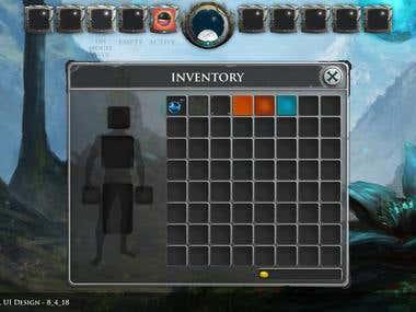 RPG UI Design