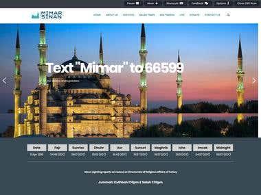 Website for mosque