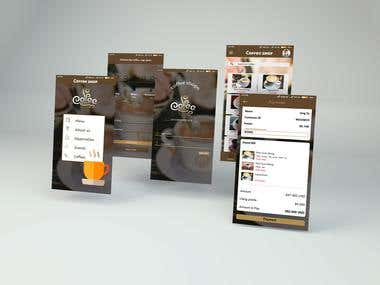 Application UI UX design