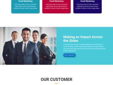 Business/Branding/Blog website