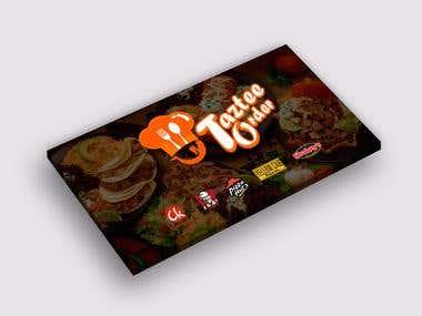 Taztee Order Facebook Ads Posting Banner