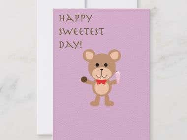 Sweetest Day Card