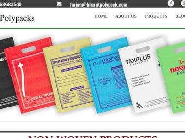 Bharat Polypacks | A leading non-woven bags manufacturer