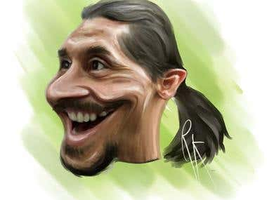 create a funny caricature