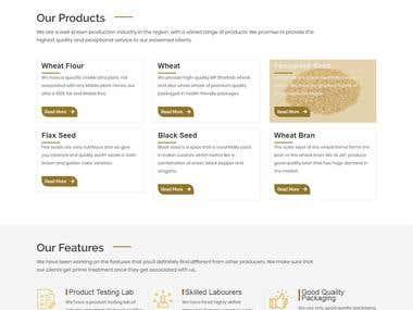 Jain Agro foods ( E-commerce website)