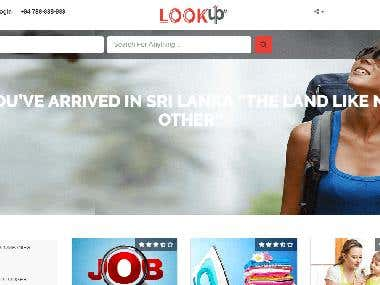 Look up (Laravel online portal)