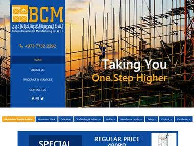 Bahrain Canadian Manufacturing Website