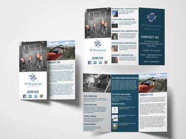 Brochure design for real estate.