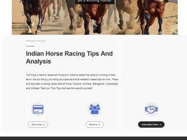 TurfKing.in - Indian Horse Racing Website