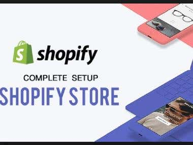 I Will Create Customize Professional Shopify Store For You.