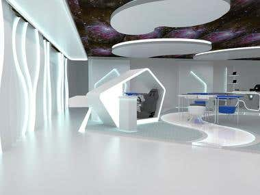 HP(Hewlett Packard) Nebula Room Design Office (1)