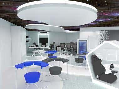 HP (Hewlett Packard) Nebula Room - Office (2)