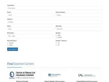 INSURANCE Website