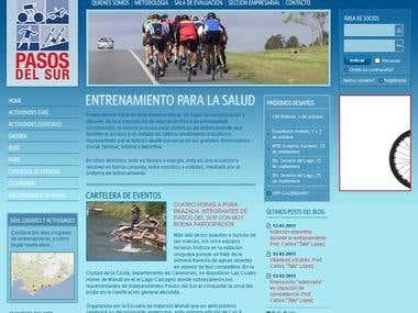 Sport Web Portal (Drupal, PHP, AJAX)