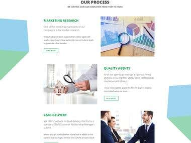 Business website (Bootstrap 4 +PSD)