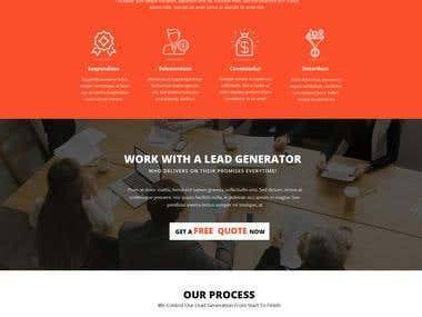Business Website (PSD+Bootstrap 4)