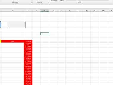 Automated Calculation in Excel