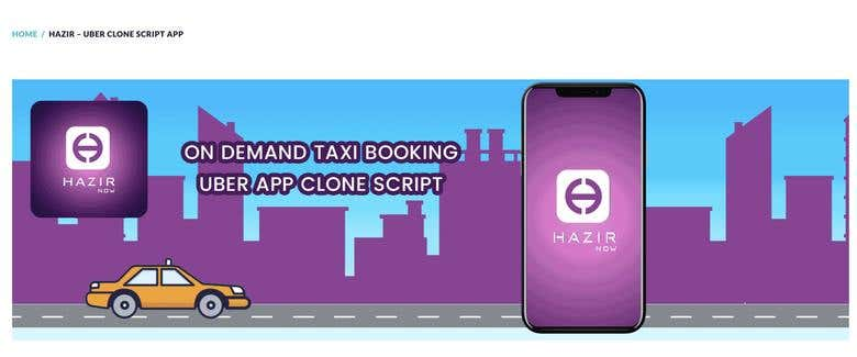 uber taxi booking clone app for sale sell in india | Freelancer