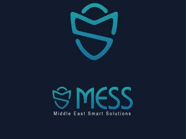 a logo design for '' MESS'' company