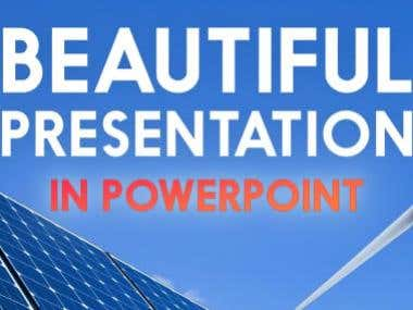 I will design a great power point presentations