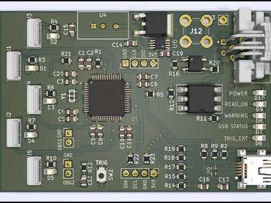 Industrial Barcode Scanner - STM32 MCU