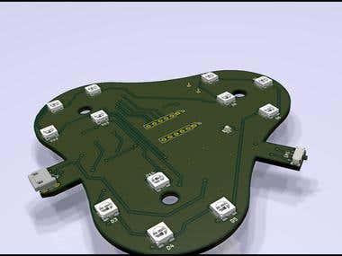 ESP32 + WS2812B IoT