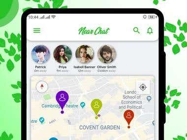 Near Chat (Flutter Application)