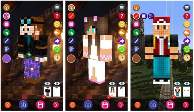 Skin Editor 3D for Minecraft | Freelancer