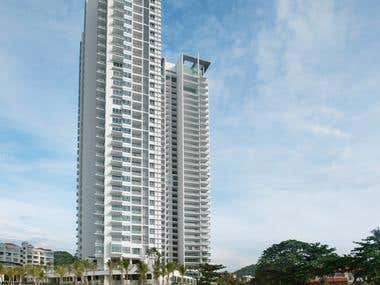 Reinforced Concrete Design for 36 storeys building