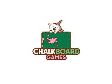 Chalk Board Games Logo