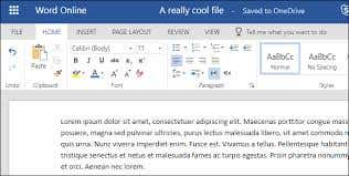 Data entry in MS Word