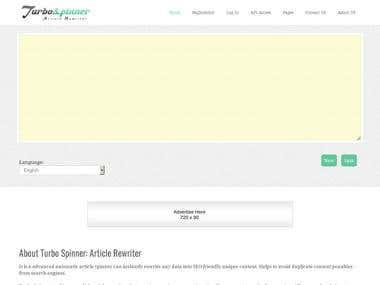 Turbo Spinner