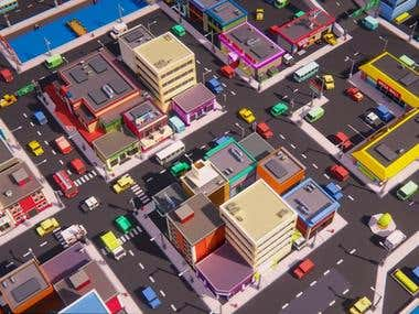 Town Traffic System