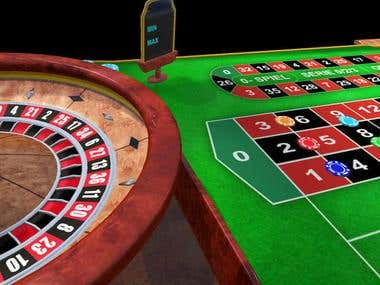 Roulette game using Unity