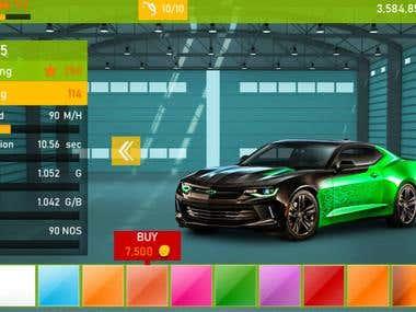 Car Racing using Unity