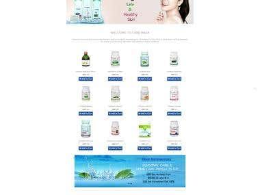 Multi Store E-commrece web Application