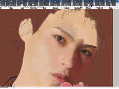 digital painting (photo)