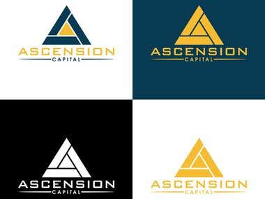 Ascension Capital logo design