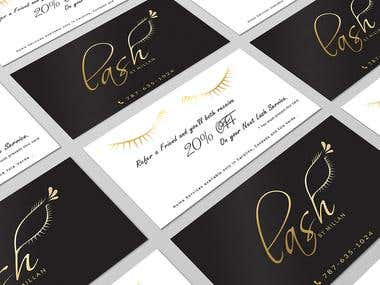 Business Card / Discount Offer Card