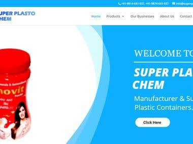 Manufacture and supplier Plasto website