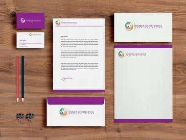 Corporate/Brand Identity for Woman Foundation