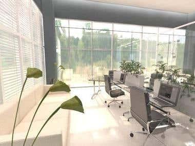 offices in office building in ksa