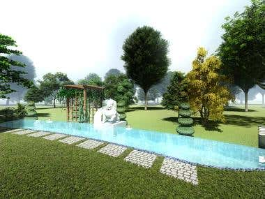 Landscape Design (2D and 3D)
